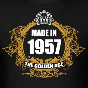 Made in 1957 The Golden Age - Men's T-Shirt