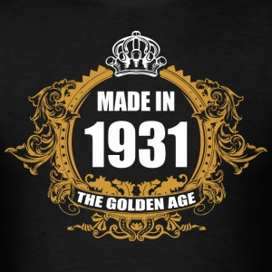 Made in 1931 The Golden Age - Men's T-Shirt