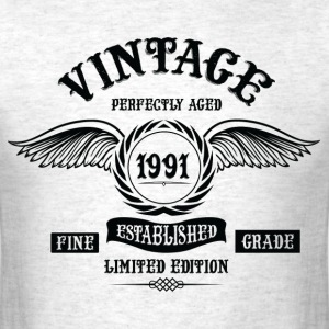 Vintage Perfectly Aged 1991 T-Shirts - Men's T-Shirt