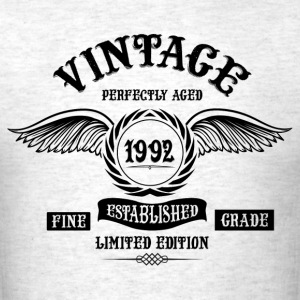 Vintage Perfectly Aged 1992 T-Shirts - Men's T-Shirt