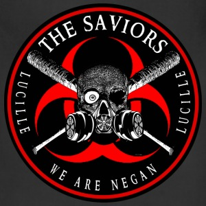 Biohazard The Saviors We Are Negan Ring Patch 2R Aprons - Adjustable Apron