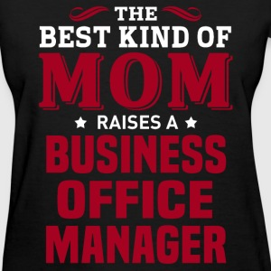 Business Office Manager MOM - Women's T-Shirt