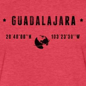 Guadalajara T-Shirts - Fitted Cotton/Poly T-Shirt by Next Level