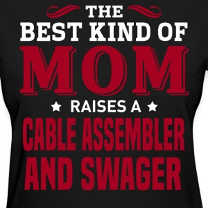 Cable Assembler And Swager MOM - Women's T-Shirt