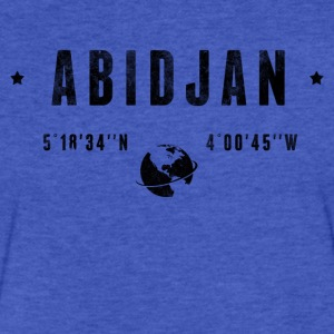 Abidjan T-Shirts - Fitted Cotton/Poly T-Shirt by Next Level