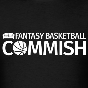 Fantasy Basketball Commish White - Men's T-Shirt