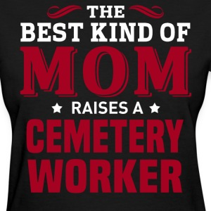Cemetery Worker MOM - Women's T-Shirt