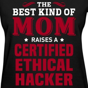 Certified Ethical Hacker MOM - Women's T-Shirt