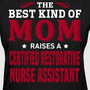 Certified Restorative Nurse Assistant MOM - Women's T-Shirt