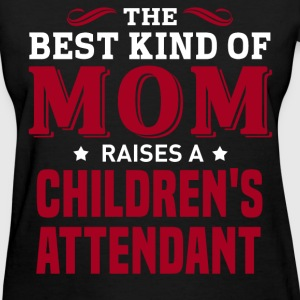 Children'S Attendant MOM - Women's T-Shirt
