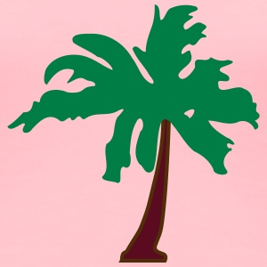 Palm tree 5 - Women's Premium T-Shirt
