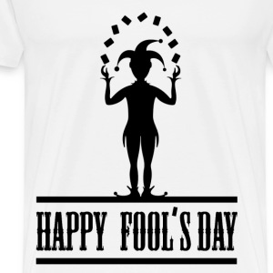 fools day 12.png T-Shirts - Men's Premium T-Shirt