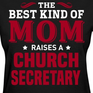 Church Secretary MOM - Women's T-Shirt
