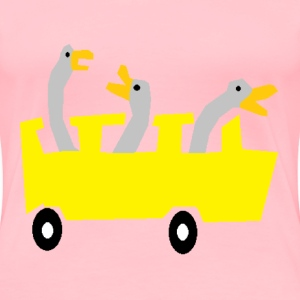 Geese Bus - Women's Premium T-Shirt