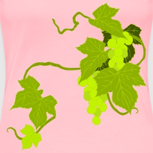 Grapes Illustration - Women's Premium T-Shirt