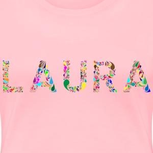 Laura Typography - Women's Premium T-Shirt
