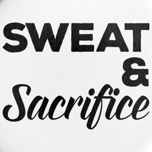 Sweat & Sacrifice Gym Quote Buttons - Large Buttons