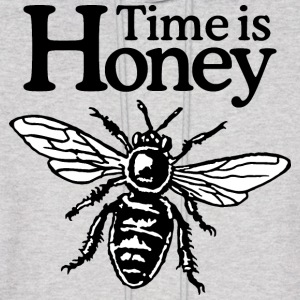 Time is Honey Beekeeper Hoodie - Men's Hoodie