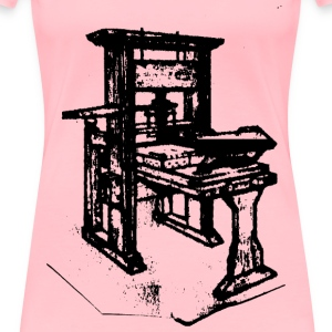Old printing press - Women's Premium T-Shirt