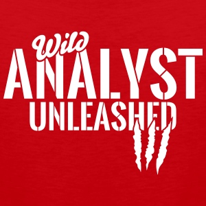 Wild analyst unleashed Sportswear - Men's Premium Tank
