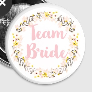 (team_ride_wreath_flower_power) Buttons - Large Buttons