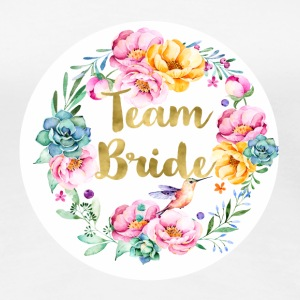 (team_bride_bouquet) T-Shirts - Women's Premium T-Shirt