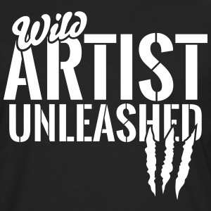 Wild artist unleashed Long Sleeve Shirts - Men's Premium Long Sleeve T-Shirt