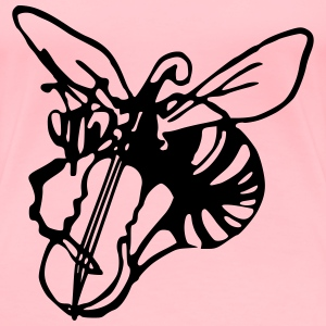 Musical wasp - Women's Premium T-Shirt
