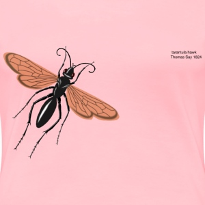 tarantual hawk wasp - Women's Premium T-Shirt