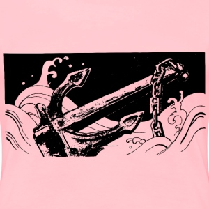 Old Anchor - Women's Premium T-Shirt
