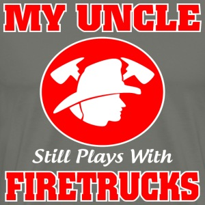 My Uncle - Firetrucks shirt - Men's Premium T-Shirt