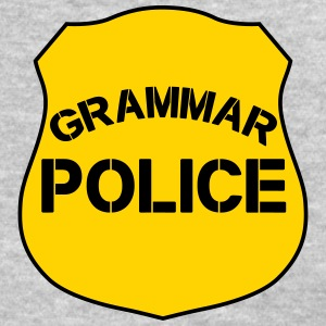 Grammar Police shirt for English teachers - Women's T-Shirt