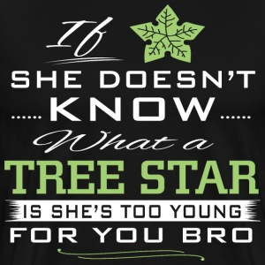 Tree Star -  I love garden Shirt  - Men's Premium T-Shirt