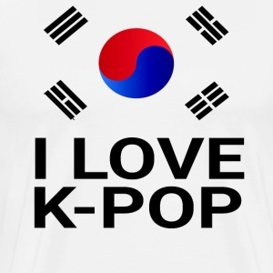 I Love K-Pop T-Shirts - Men's Premium T-Shirt
