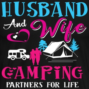 Wife Camping - Best shirt For Wife Husband - Men's Premium T-Shirt