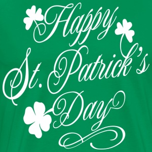Irish shirt, irish gift ideas for women/men, Happy - Men's Premium T-Shirt