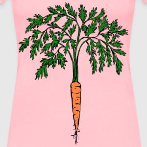 Orange carrot - Women's Premium T-Shirt