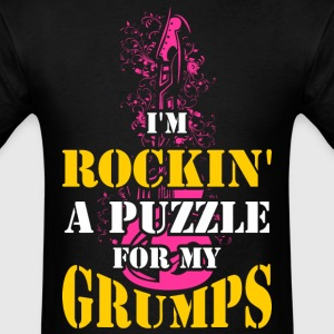 I'm Rockin  A Puzzle for My Grumps - Men's T-Shirt