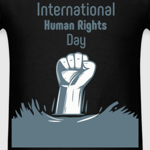 Human Rights - International human rights day - Men's T-Shirt