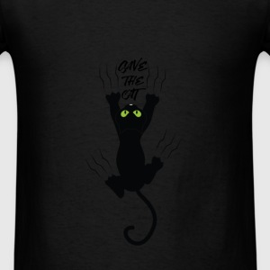 Cats - Save the cat - Men's T-Shirt