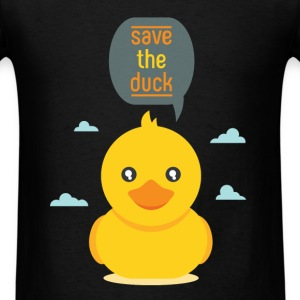 Duck - Save the duck - Men's T-Shirt