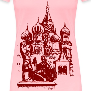 Saint Basil s Cathedral - Women's Premium T-Shirt