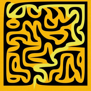 Solutions to Multicursal Maze Puzzle - Kids' Premium T-Shirt