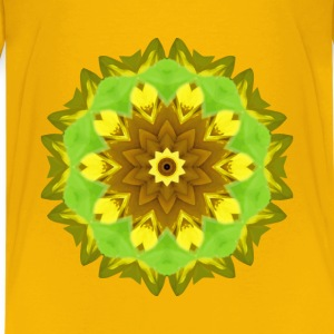 Sunflower kaleidoscope 6 - Kids' Premium T-Shirt