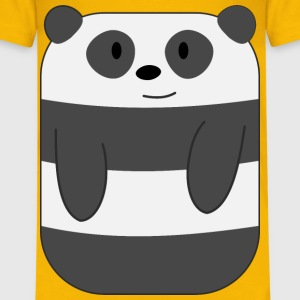 Cute Cartoon Panda with Hands - Kids' Premium T-Shirt