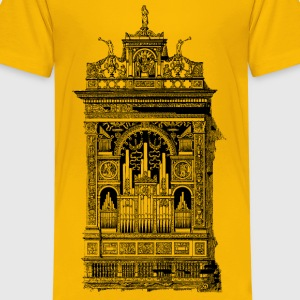 Organ in the Church of Santa Maria della Scala, Si - Kids' Premium T-Shirt