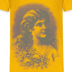 Vintage Flower Girl 02 03 - Kids' Premium T-Shirt