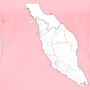 Parliamentary Constituencies of Peninsular Malays - Women's Premium T-Shirt