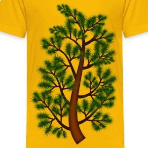 Pine tree branch - Kids' Premium T-Shirt