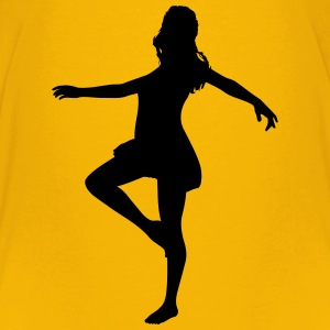 Woman dancing - Kids' Premium T-Shirt